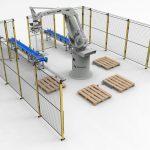 Cómo conseguir un paletizado de cajas reduciendo el movimiento de cajas de gran peso y a gran altura