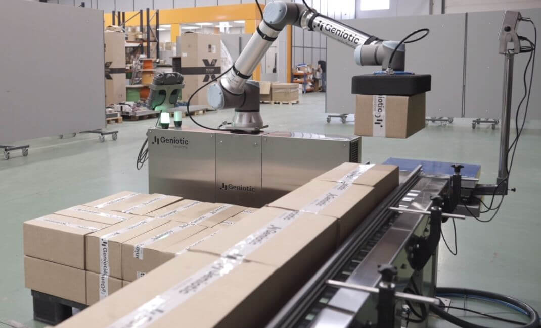 Automatizar el paletizado automático