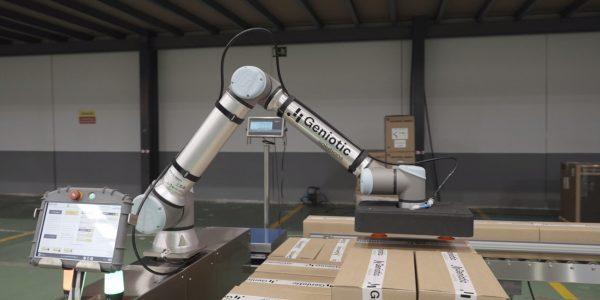 Brazo de robot geniotic